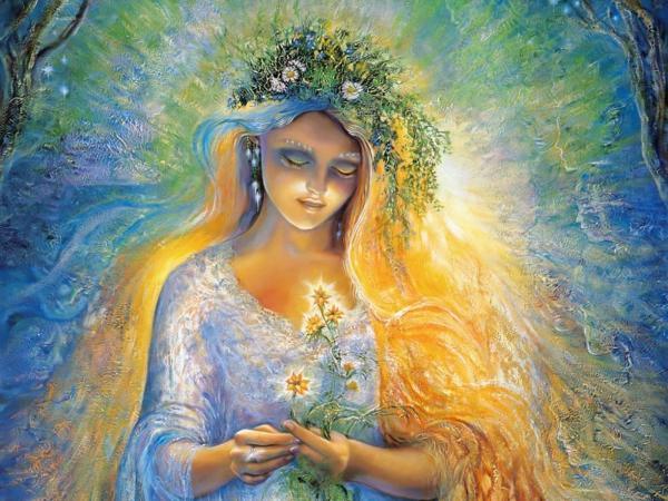 Goddess Of The Spring, Goddesses