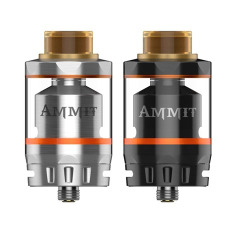 geekvape ammit dual coil rta 2  1 thumb%25255B2%25255D - 【RTA】「Geekvape AMMIT Dual Coil Version RTA」ポストレスデッキ、シングル/デュアルコイル対応。6ml/3mlタンク切り替えできる万能RTA登場