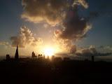 Panorama Den Haag in de ochtend
