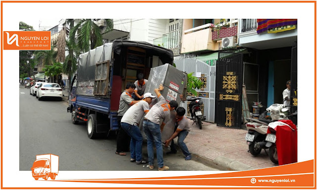 Thuê xe tải quận 6