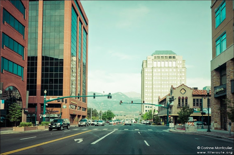 Les rues de Colorado Springs