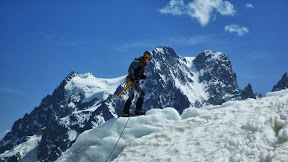 Ecole de glace, glacier Blanc