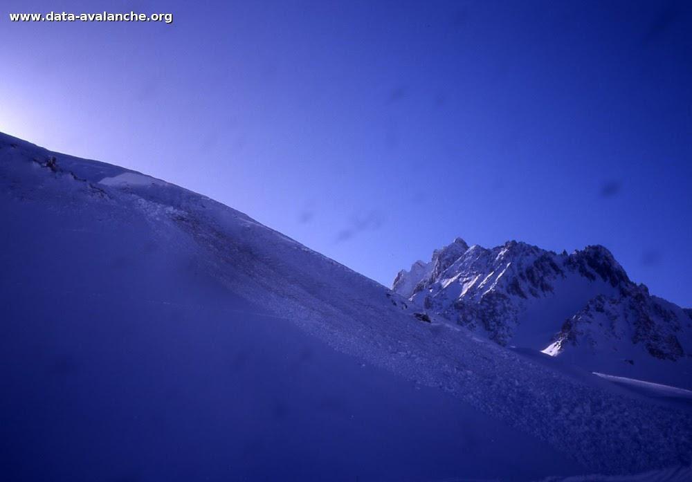 Avalanche Mont Thabor, secteur Petit Argentier, Piste du Jeu - Photo 1