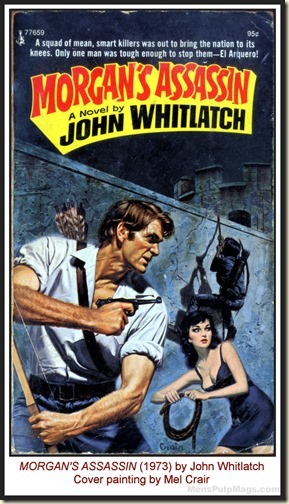 Mel Crair - MORGAN'S ASSASSIN, John Whitlatch (1973) MPM