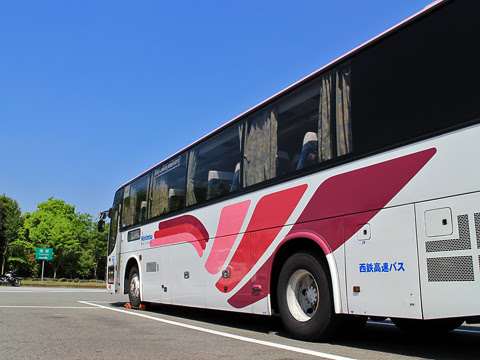 西鉄高速バス「フェニックス号」 9907 えびのPA その3にて