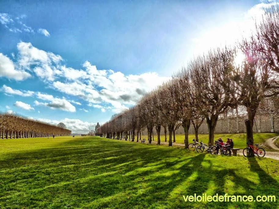Le parc de L'observatoire de Meudon - e-guide balade à vélo de Meudon au château de Versailles par veloiledefrance.com