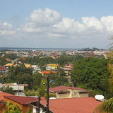 Vue générale de Cayenne depuis Baduel. 4 décembre 2011. Photo : J.-M. Gayman