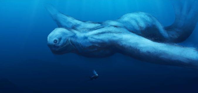 Conheça o Ningen humanóides gigantes do continente antártico