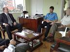 Reunión con el alcalde de Bogota-Teusaquillo, Juan Carlos Almonacid