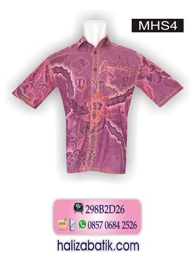 motif baju batik, baju modern, contoh desain batik
