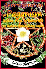 Cover of Lisa Dinsmore's Book Representation Of Paganism Wicca And Witchcraft In Modern Fictional Mass Media