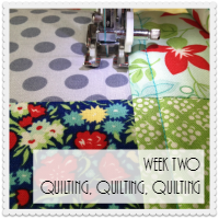 Week Two: Quilting, Quilting, Quilting