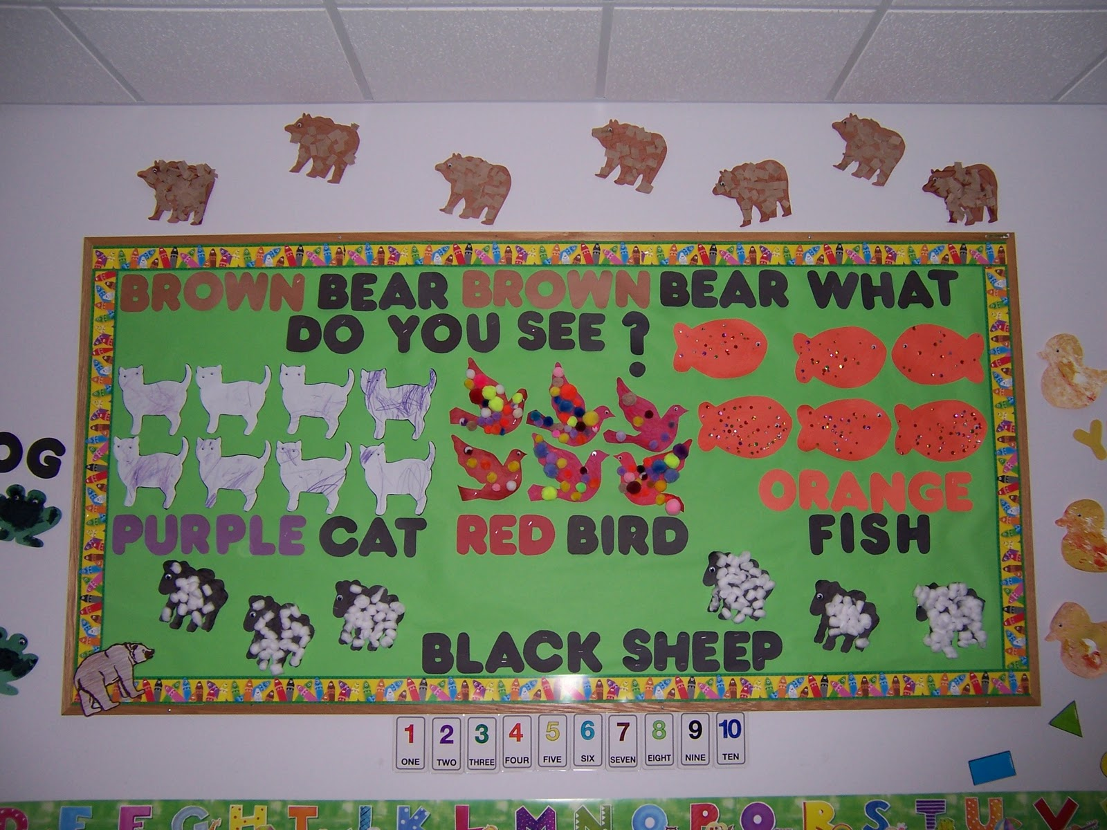 preschooldoll designs beautiful bulletin boards