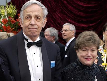 John Nash y su esposa Alicia Nash