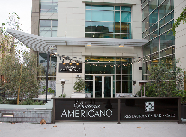 photo of the outside of Bottega Americano
