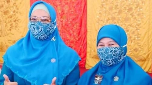 Pisah Sambut Ketua TP PKK Padang, Ny Genny Berlinang Air Mata
