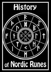 Cover of Anonymous's Book History of Nordic Runes p1