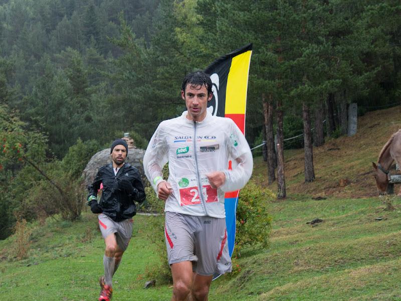 Kilian Jornet, guanyador de la prova