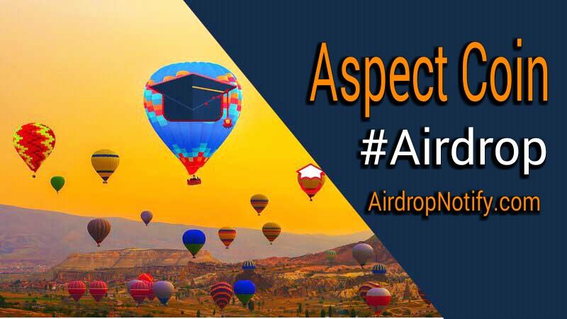 Aspect Coin Crypto Airdrop Alert