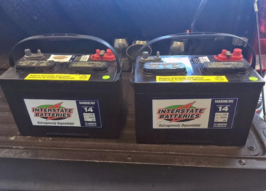 Costco Marine Battery >> Group 24 To Group 27 Batteries In My 27ft International Airstream