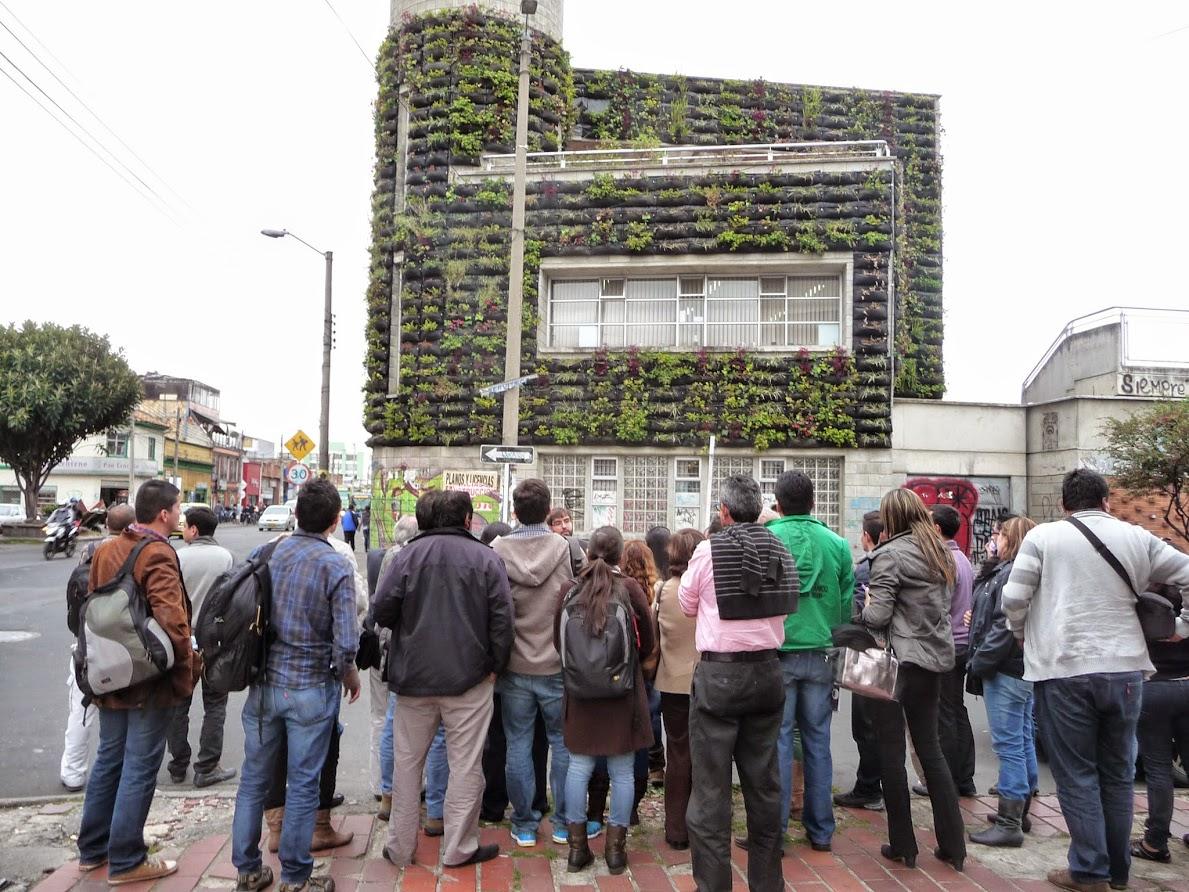 curso de jardines verticales en Bogotá, Colombia - Formación en jardinería vertical