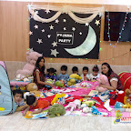 Pyjama Party for Nursery Section (2017-18) at Witty World, Bangur Nagar