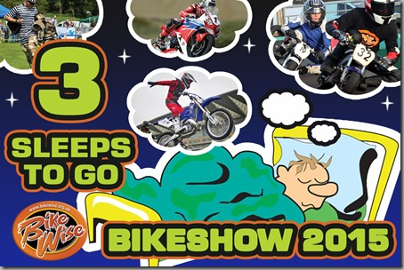 Bikewise Countdown (3 sleeps) Graphic