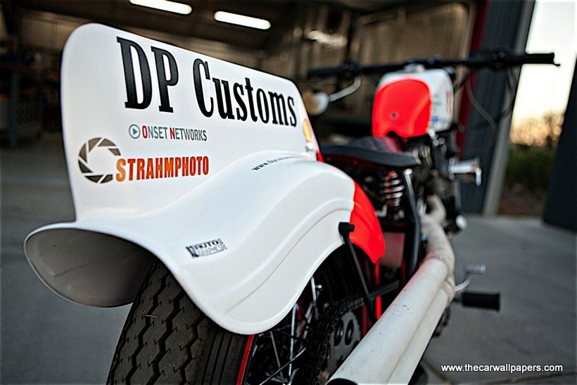 DP Customs The 3 Motorcycle