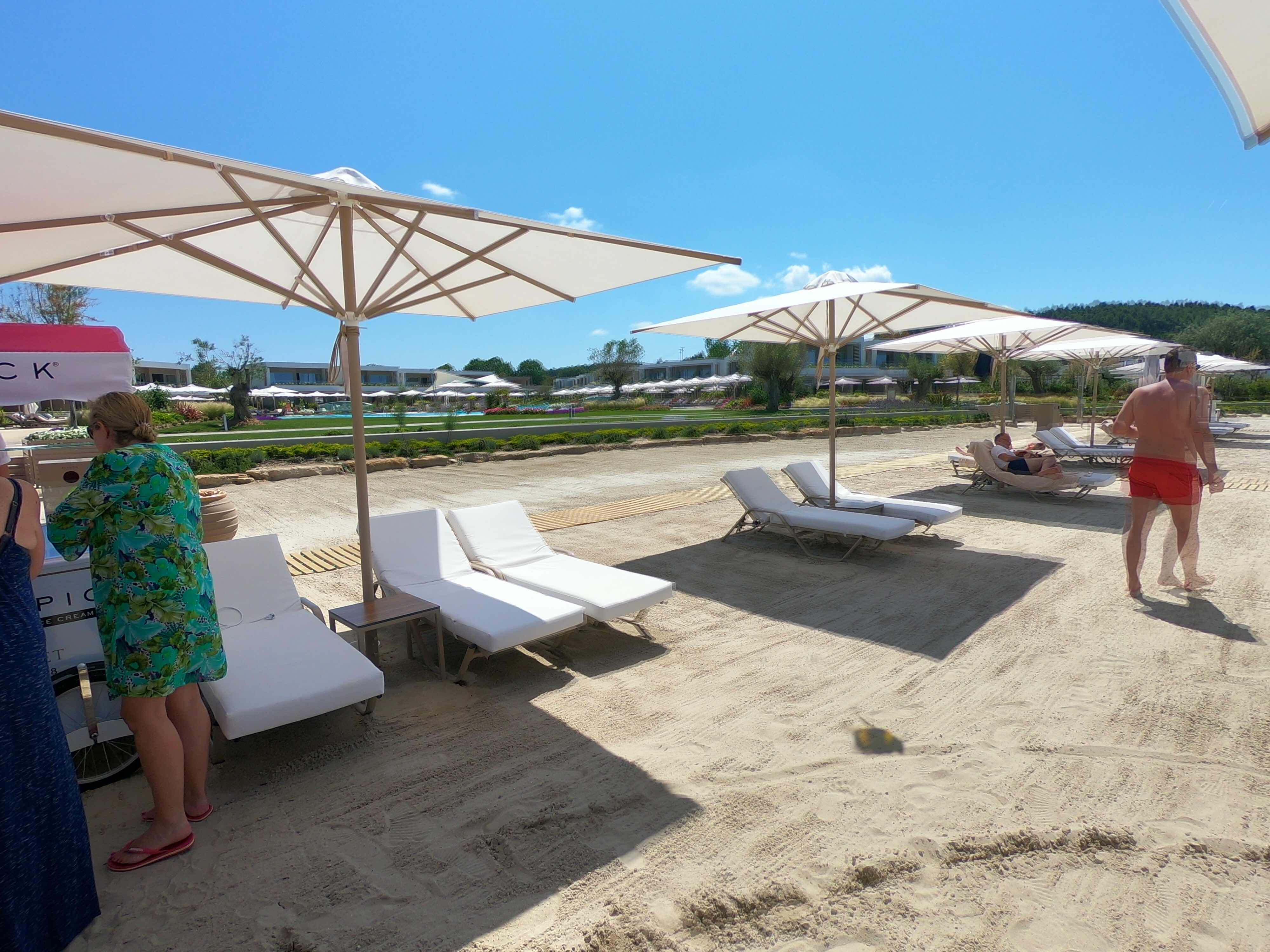Sani Dunes beach