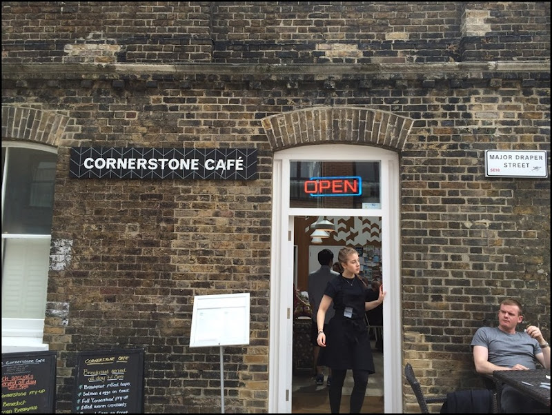 Cornerstone Cafe, Woolwich