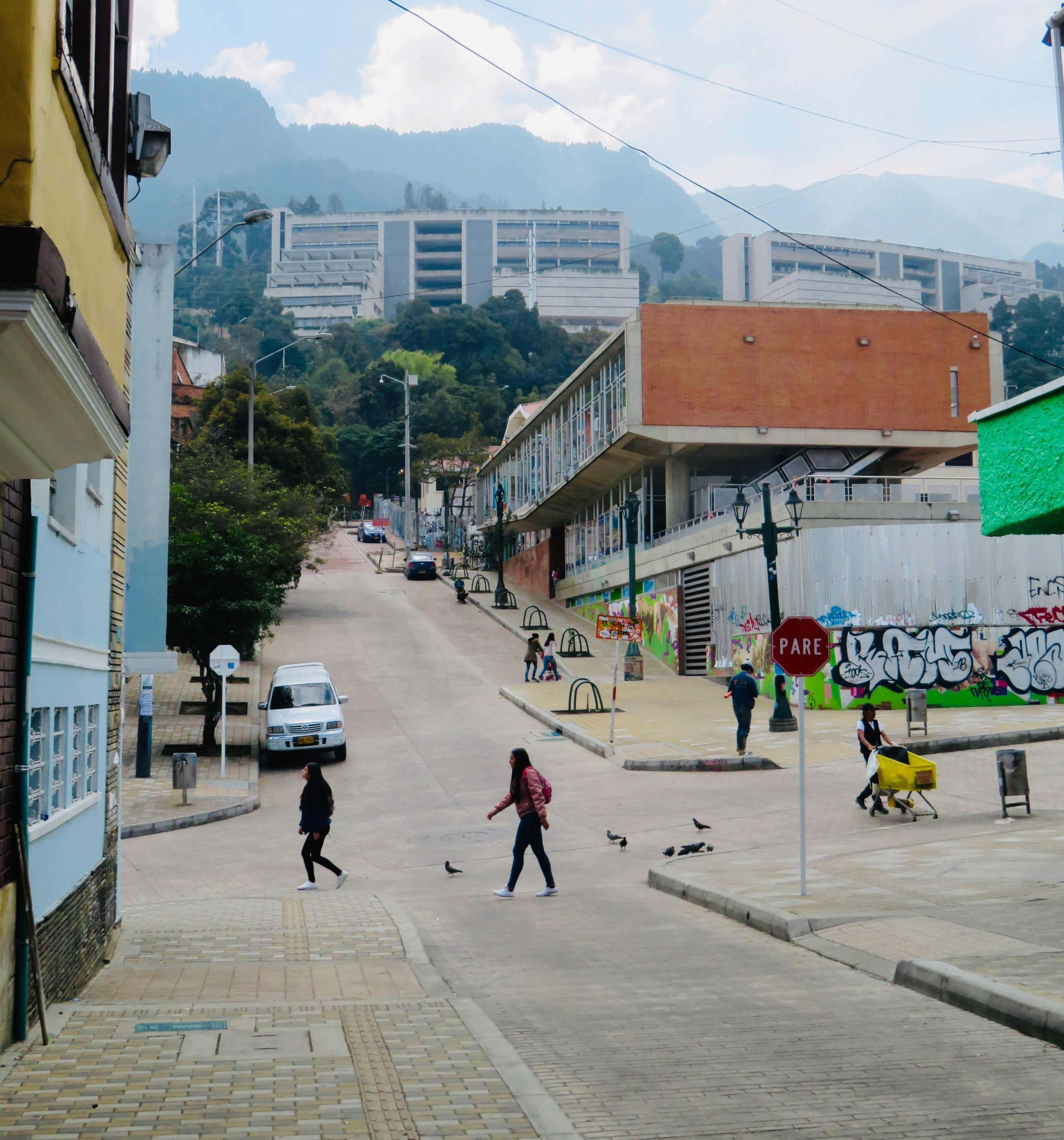 Where the heck are we now?: Bogota, the capital city of Columbia