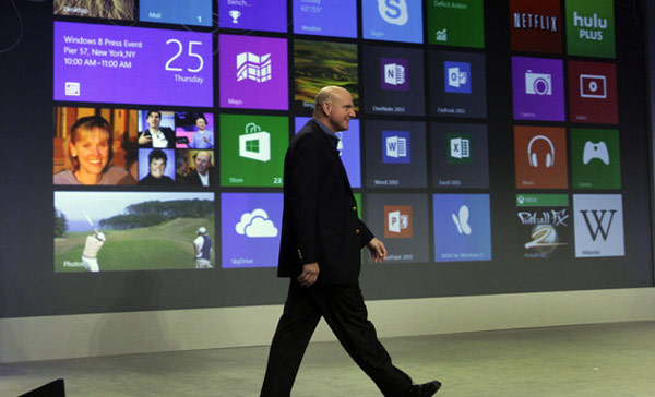 Balmer Windows 8