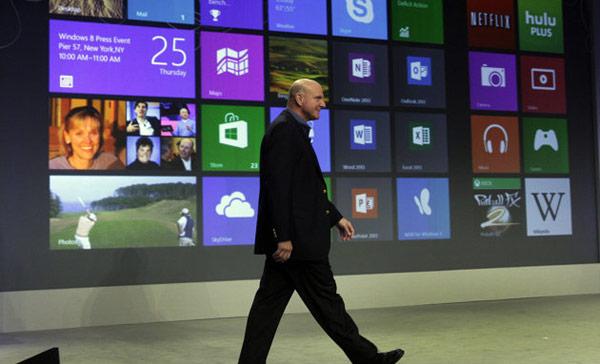 Balmer Windows 8