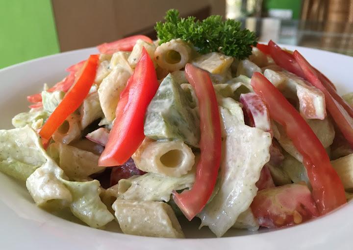 Tatziki Pasta Salad