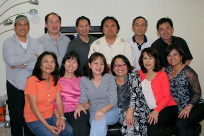 Khóa 7 họp mặt nhân dịp TT Sang thăm Nam Cali 05/04/2013