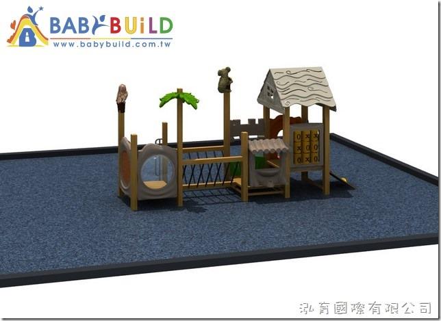BabyBuild 花黎木遊具