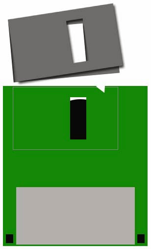 Turn old floppy disks into new items