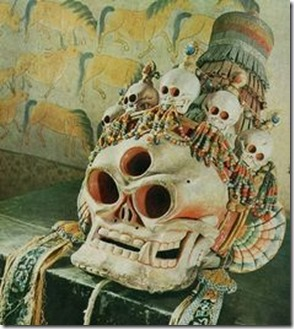China skulls third eye