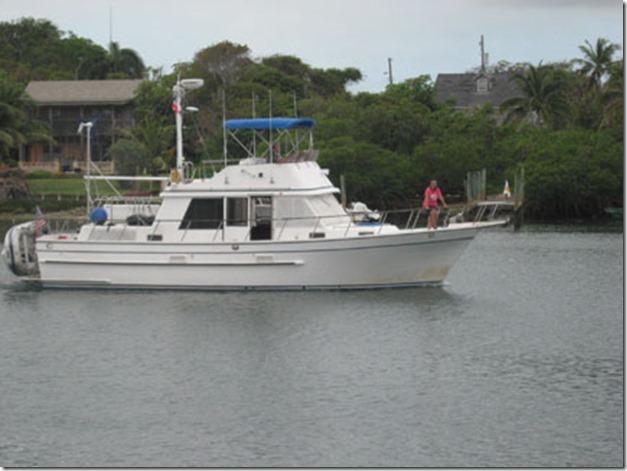 Leaving Leeward Yacht Club