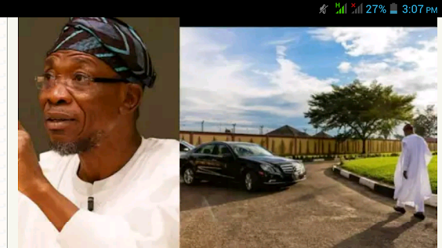 Rauf Aregbesola Drives Himself To Work, Lauded By Osun Indigenes