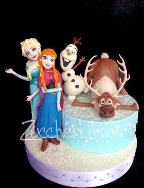 Olaf Frozen Anna Elsa
