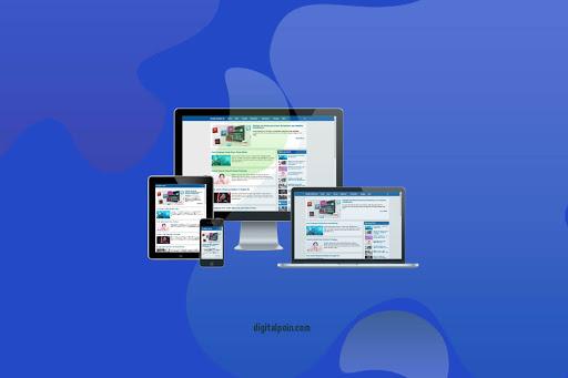 Gratis Template Kompi Flexible AMP dan Non AMP Untuk 5 Blogger
