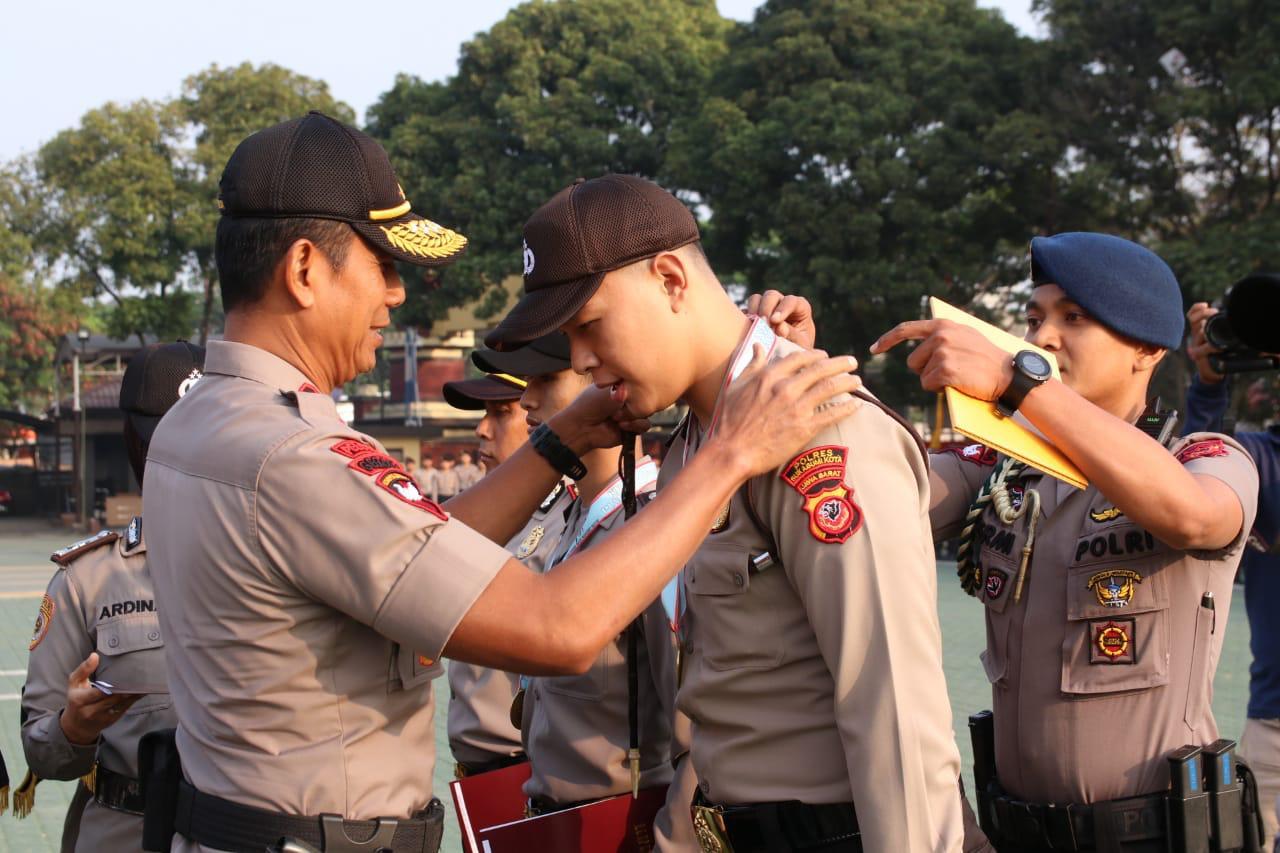 Anggota Polresta Sukabumi Raih Medali Emas Pada Kejurnas Inkanas 2019