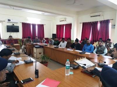 कोचिंग संचालको को एसपी राजेश सिंह चंदेल ने दिए निर्देश | Shivpuri News