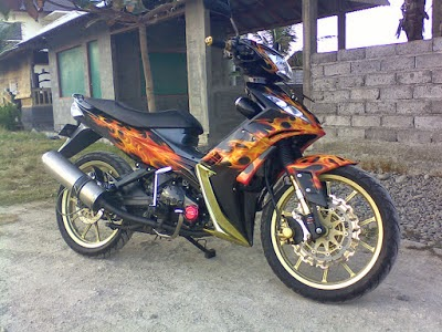 Jupiter Mx Modifikasi Drag Bike