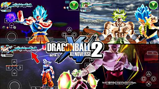 NEW! DRAGON BALL  TENKAICHI TAG TEAM MOD SUPER DBZ XENOVERSE 2 +MENU (PPSSPP) BETA 2 NO ANDROID