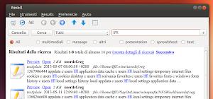 Recoll 1.19.2 su Ubuntu Linux