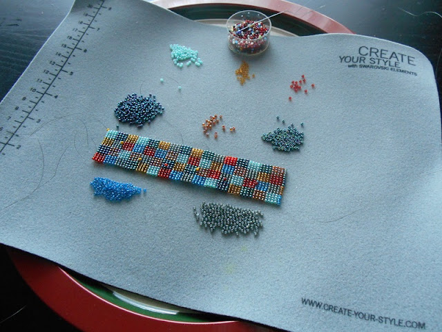 Using a Bead Mat