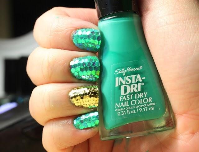 Carolina Estilo +: Uñas: Nail Art para San Patricio / St. Patrick\'s Day