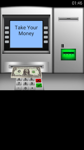 ATM cash and money simulator for PC
